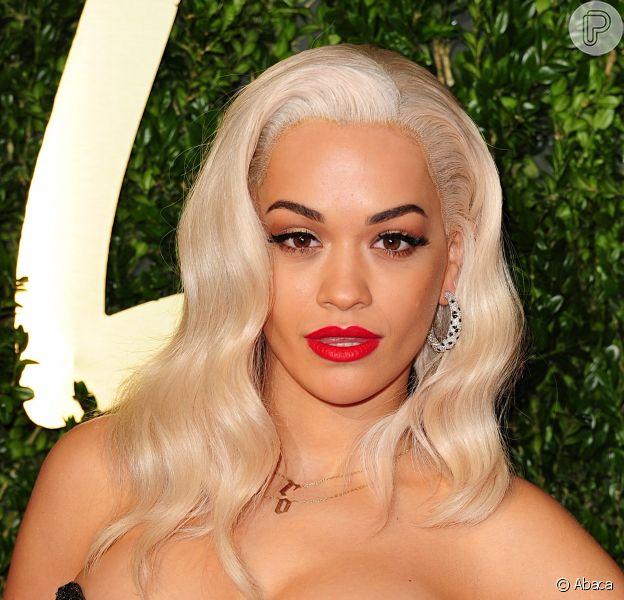 Rita Ora está no elenco de '50 Tons de Cinza', em 3 de dezembro de 2013