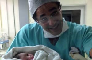Luciano Szafir já é papai! Nasce David, irmão de Sasha, no Rio de Janeiro