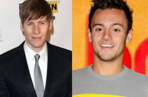 Tom Daley está namorando o roteirista Dustin Lance Black, 20 anos mais velho