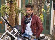 Novela 'Sol Nascente': Mario (Bruno Gagliasso) sofre acidente de moto