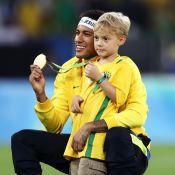 Davi Lucca, filho de Neymar, lança promoção no site do jogador: 'Partiu papai'