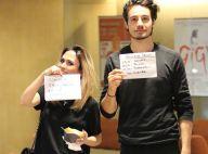 Tatá Werneck e Tiago Iorc vão a cinema juntos e brincam:'Claudia Raia lá dentro'