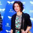 Bruna Linzmeyer no red carpet do filme 'Sob Pressão', em 10 de outubro de 2016