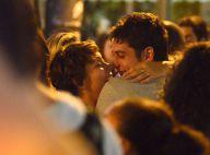 Fabiula Nascimento e Marco Pigossi se negam a falar sobre fotos íntimas em bar