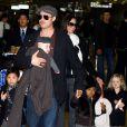 Brad Pitt viu os filhos pela primeira vez desde que Angelina Jolie pediu o divórcio, no dia 19 de setembro de 2016