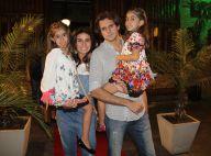 Giovanna Antonelli e marido festejam aniversário de 6 anos das filhas gêmeas