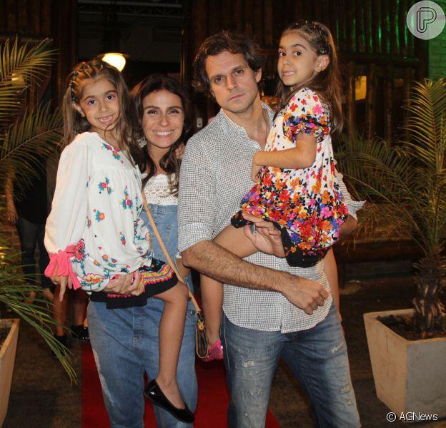 Giovanna Antonelli comemora aniversário das filhas nesta sexta-feira, dia 7 de outubro de 2016 no Rio de Janeiro