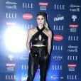Julia Faria usou look Letage Verão 2017 para ir aodesfile do 'Elle Fashion Preview', no AquaRio, novo ponto turístico do Rio de Janeiro, na noite desta terça-feira, 11 de outubro de 2016