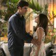 Em 'Haja Coração',  Felipe (Marcos Pitombo) vai pedir Shirlei (Sabrina Petraglia) em casamento quando ela sair da cadeia