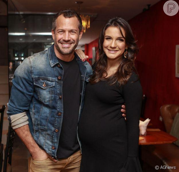 Malvino Salvador e Kyra Gracie são pais de novo! Nasce Kyara, 3ª filha do ator, nesta quinta-feira, dia 13 de setembro de 2016