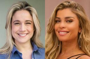 Grazi Massafera responde comentário divertido de Fernanda Gentil: 'Vou no salão'