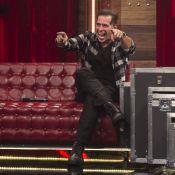 Leandro Hassum brinca com emagrecimento de Boninho na TV:'Grampeamos o estômago'