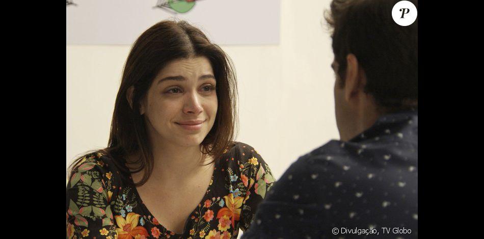 Shirlei vai ser maltratada na prisão, mas Felipe faz uma visita