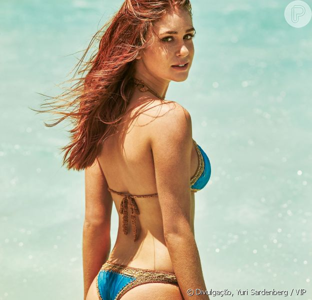 Marina Ruy Barbosa foi eleita a mulher mais sexy do mundo pela revista 'VIP'