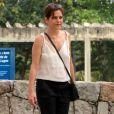 Drica Moraes está de férias da TV desde o fim da minissérie 'Justiça'