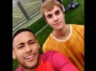 Vídeo: Justin Bieber joga futebol e marca gol em cima de Neymar durante treino