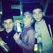 Madonna posta foto do filho com bebida e responde críticas: 'Sem julgamentos'