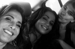 Totia Meirelles posta foto com Nanda Costa e Dieckmann: 'Wanda com suas meninas'