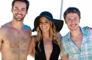 'Amor à Vida': Amarilys vai à praia com casal gay e já começa a dar novo golpe