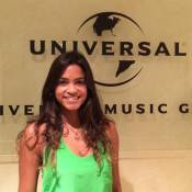 Lucy Alves, do 'The Voice', assina com a Universal Music e começa a gravar 1º CD