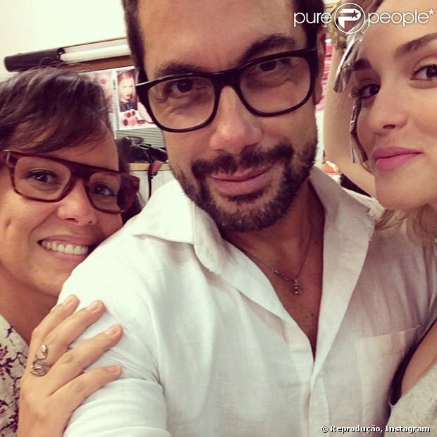 Isabelle Drummond está loira para ser uma das protagonistas de 'Geração Brasil' (27 de janeiro de 2014)
