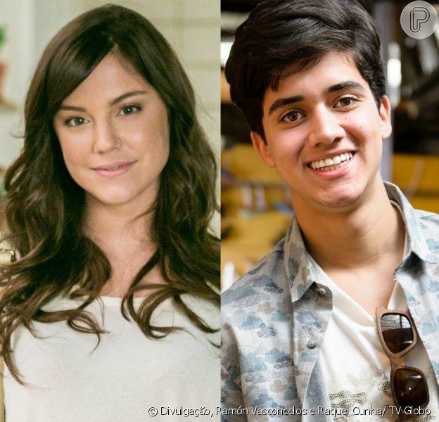 Marina (Alice Wegmann) se aproxima de Edu (Matheus Fagundes) para ficar perto de Tiago (Humberto Carrão) e Letícia (Isabella Santoni), na novela 'A Lei do Amor', a partir de 6 de fevereiro de 2017