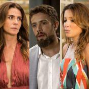 'Sol Nascente': Sirlene revela que Cesar é pai de Lucas e Alice dá tapa no vilão