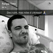 Felipe Titto é internado na UTI em São Paulo após fortes dores no coração