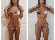 Ex-BBB Mayra Cardi ganha 8kg de músculos após cirurgia: 'Dedicação'. Fotos!