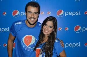 Camilla Camargo e Joaquim Lopes prestigiam show de Ivete Sangalo em Salvador