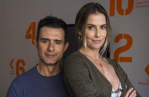 Deborah Secco se diverte na estreia de Marcos Pasquim no Twitter: 'Meio perdido'