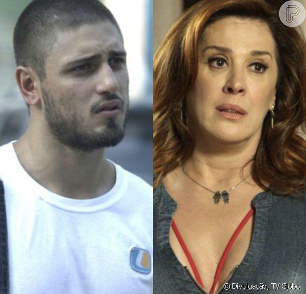 Gustavo (Daniel Rocha) some novamente e deixa Salete (Claudia Raia) desesperada, no capítulo que vai ao ar sábado, dia 28 de janeiro de 2017, na novela 'A Lei do Amor'