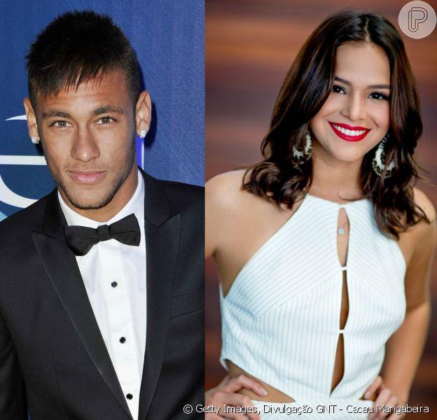 Bruna Marquezine posta foto com emoji no rosto de Neymar e web festeja: 'Meu casal favorito', disse um seguidor na noite de sexta-feira, 27 de janeiro de 2017