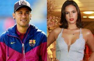 Bruna Marquezine ganha declaração de Neymar após postar foto com ele: 'Te amo'