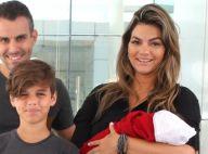 Kelly Key conta que o filho Artur só chora para trocar fraldas: 'Muito calminho'