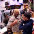 Luiz Felipe recebe imunidade dos anjos Daniel e Marinalva