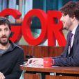 O apresentador assumiu a bancada do programa 'Agora É Tarde' após a saída do Danilo Gentilli