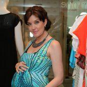 Larissa Maciel dá à luz sua primeira filha, Milena, de parto normal