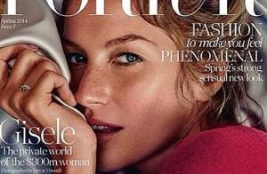 Gisele Bündchen aparece provocante em capa de nova revista de moda