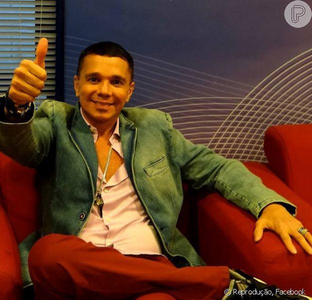 Netinho comenta em sua conta do Facebook sobre o uso de anabolizantes