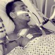 Netinho divulgou neste sábado, 8 de fevereiro de 2014, uma foto do período em que esteve internado no Hospital Sírio-Libanês, em São Paulo