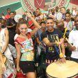 Paloma Bernardi é cotada para ser a rainha de bateria da escola da baixada flumense no Carnaval de 2014