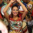 Paloma Bernardi vai usar uma fantasia de R$ 80 mil no desfile da Grande Rio no Carnaval 2014, em 9 de fevereiro de 2014