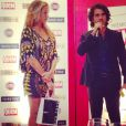 Luana Piovani entrega prêmio de Melhor Ator de Teatro a Eriberto Leão, pelo espetáculo 'Jim'