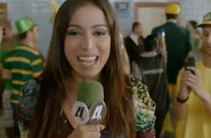 Anitta aparece como repórter no trailer do filme 'Copa de Elite'