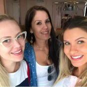 Grávida, Andressa Suita viaja para Miami com Gusttavo Lima: 'Comprinhas'. Vídeo!