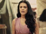 Fim da novela 'A Terra Prometida': Samara dá sinais de loucura após morte do pai