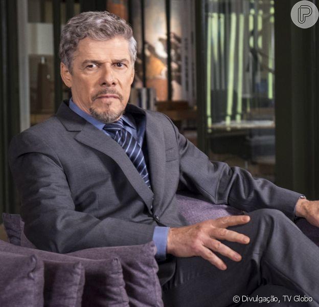 José Mayer, o Tião da novela 'A Lei do Amor', foi acusado de assédio por duas funcionárias da TV Globo; TV Globo não se posicionou nesta sexta-feira, 3 de março de 2017