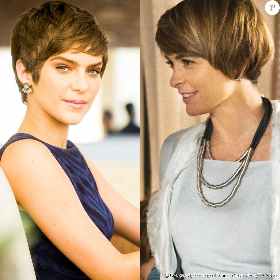 Helô (Claudia Abreu) dá uma peruca de presente a Letícia (Isabella Santoni), na novela 'A Lei do Amor', a partir de 11 de março de 2017
