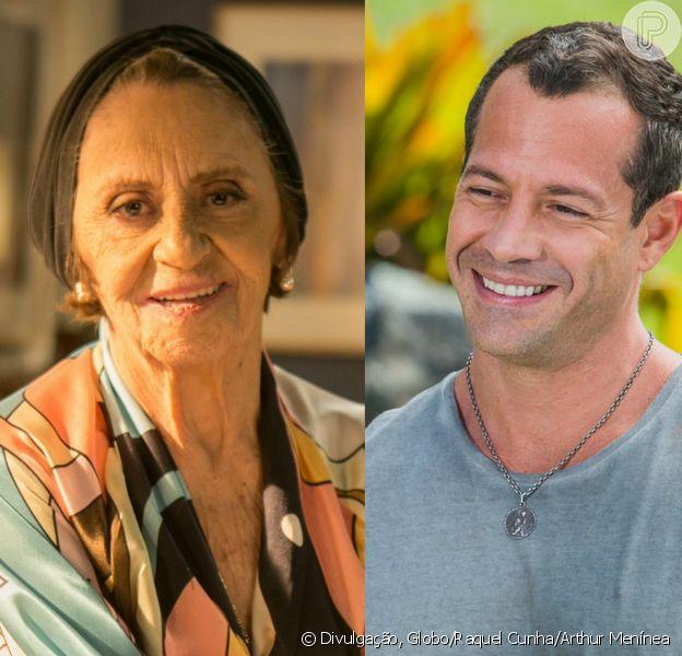 Malvino Salvador viverá Cristiano, um novo ajudante de Sinhá (Laura Cardoso) em 'Sol Nascente'
